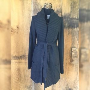 Am Taylor Long Sweater Coat